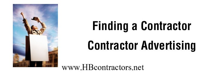 General Contractor Advertising