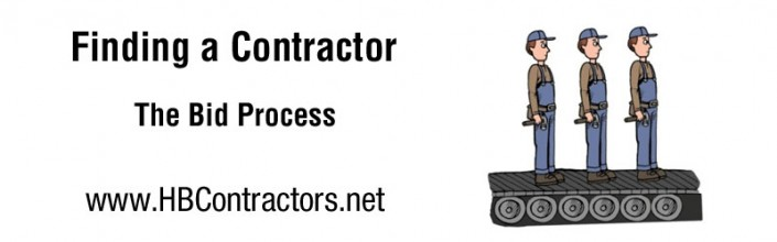 The Contractor Bid Process