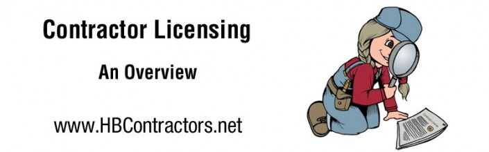 contractor licensing overview